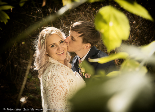emotionale Hochzeit in Bismark